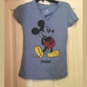Disney Parks blue Mickey Mouse graphic t-shirt